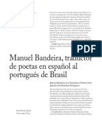 Manuel Bandeira traductor