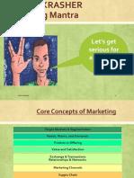 Core Marketing Concepts-I