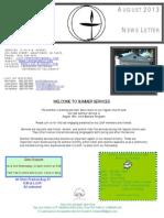 Lakeshore UU Newsletter August 2013