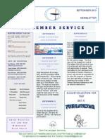 Luuf Newsletter Sept 2013