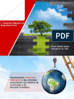 Apresentacao - Construção Sustentável e Empregos Verdes - SM
