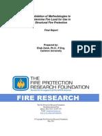 Fire Load Survey Methodologies
