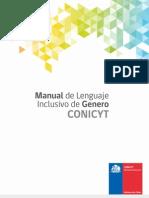 Manual Lenguaje Inclusivo CONICYT