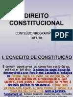 AULAS - DIREITO CONSTITUCIONAL - TRF TRE