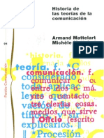 Mattelart Armand Historia de Las Teorias de La Comunicacion