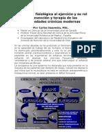 Adaptacion Fisiologica Al Ejercicio _carlos Saavedra