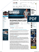 Bodybuilding.com - Jim Stoppani's Shortcut to Shred Recipes_ Cheesy Ham Scramble