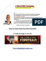 The Viral PDF Formula