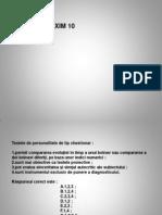 Examen psihologie Popa Velea