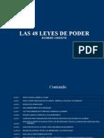 Robert greene poder 48 del pdf las leyes