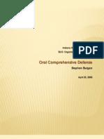 S Burgan DOL Comprehensive Exam