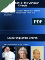 Church Government Lesson