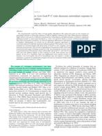 Balseiro, 2008. Living in Transparent Lakes. Low Food P-C Ratio Decreases Antioxidant Resnse to Ultraviolet Radiation in Daphnia.