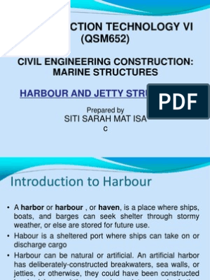 Harbour and Jetty Structures | Wharf | Water Transport