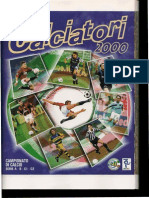 Calciatori 1999-00