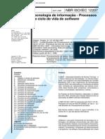NBR ISO 12207 - Tecnologia de Informacao - Processos de Ciclo de Vida de Software