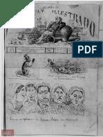 Diario de Guerra Paraguay Ilustrado del 30 de julio de 1865 Edición N° 1