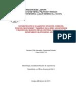 SISTEMATIZACIÓN DE DIAGNÓSTICO SAN CRISTÓBAL.