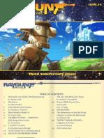 Ray Gun Revival magazine, Issue 54 (3rd Anniversary!)