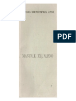Manuale Dell'Alpino