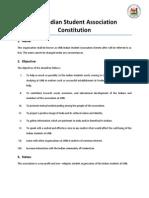 UNB ISA Constitution