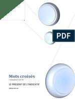 Mots croisés Présent le fichier  pdf