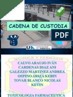 Cadena de Custodia Expo