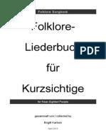 Birgitt Karlson - Folklore Songbook