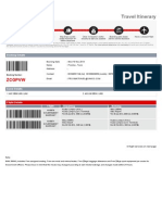 CONTOH FLIGHT TICKET