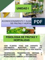 Acondicionamiento y Almacenamiento de Frutas y Hortalizas