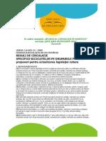Reguli de Circulatie Biciclisti Propuneri FBR Modificare Cod Rutier