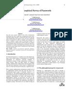 Philosophical Survey of Password,, IJCSI, Volume 2, August 2009.