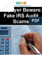 Taxpayer Beware Fake IRS Audit Scams