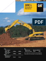 Catalogo Excavadora Hidraulica 320cl Caterpillar