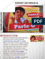 Market Survey on Parle-g