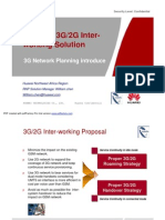 HUAWEI 3G_2G Inter Working Solution