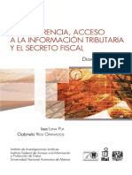 Transparencia, acceso información tributaria y el Secreto Fiscal