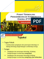 Centre of Technology for Energy Resource Development (in Indonesian) in 2011