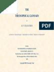 Blavatsky - The Theosophical Glossary