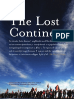 Article Lost Continent by Moises Naim