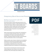 A CBRM Succession Planning for Board Members