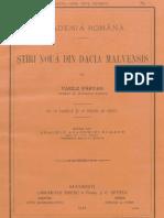 16697867 Vasile Parvan Tiri Nou Din Dacia Malvensis