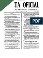 Reglamento Ley Contrataciones Gaceta Oficial 39181 19 MAYO 2009