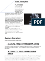 Fire Suppression Detecion Principle