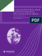 La Educacin Por El Amor en Sustitucin de La Educatin Por El Temor_ES