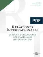 Teoria de Las Relaciones Internacionales en y Desde El Sur