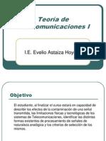 Teoria de Telecomunicaciones I Cap1y2