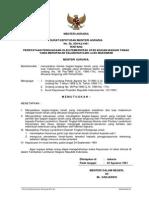 Keputusan Menteri Agraria Nomor. Sk/509/Ka/1961 Tentang Pernyataan Penguasaan Oleh Pemerintah Atas Tanah Kelebihan Luas Maksimum
