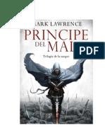 161000438 Lawrence Mark Trilogia de La Sangre 01 Principe Del Mal