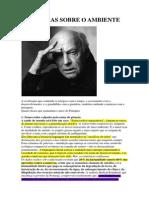 Eduardo Galeano - 4 Mentiras Sobre o Ambiente